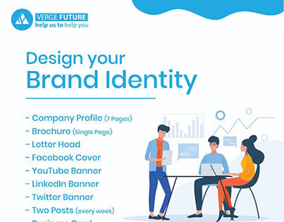 Design your company Profile( 5 Pages )