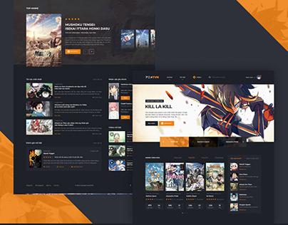 ANIMETVN Web Design
