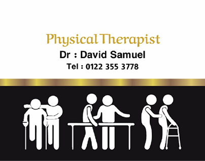 Business card physical therapy