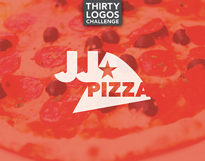 THIRTY LOGOS - DAY 13 - JJ PIZZA
