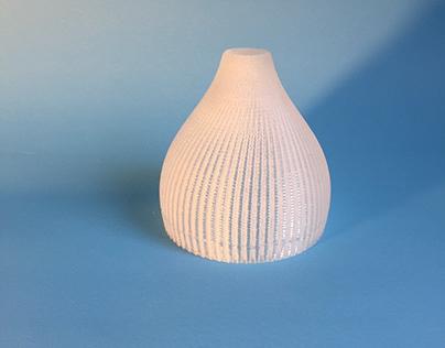 Pantalla para luminaria impresa en acrilico