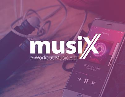 Musix- A Workout Music App