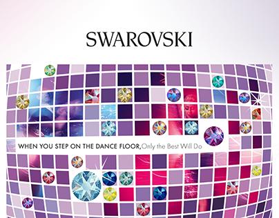 Swarovski brochure design