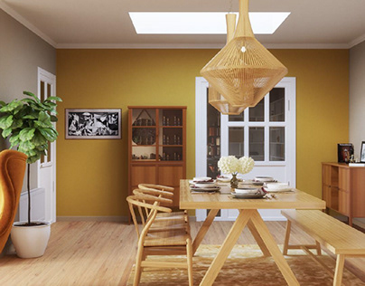 Eclectic Attic living room project