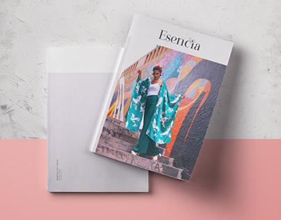 Magazine Esencia - Concept and Lookbook