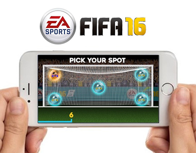 FIFA 16 - Integrated campaign & Experiential Game