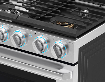 Samsung - Gas Chef Collection Pro