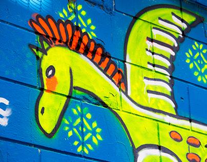 Graffiti / Mural / Spray paint art