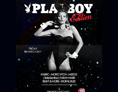 PLAYBOY EDITION - FLYER ARTWORK