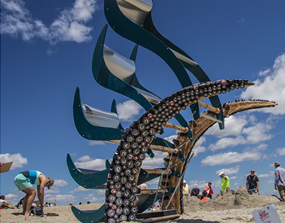 Wind Scales - Kinetic Wind Sculpture