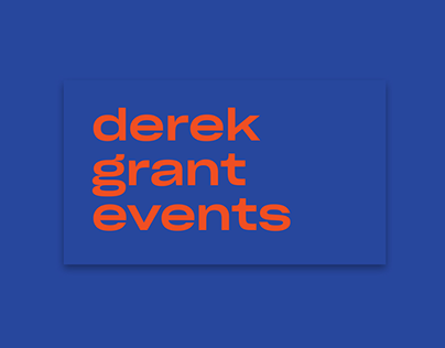 Derek Grant Events