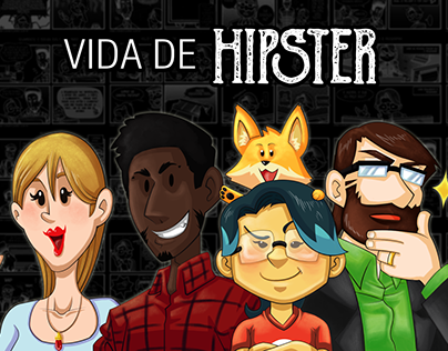 VIDA DE HISPTER - Weekly Webcomic
