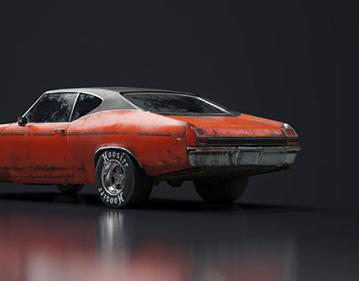 1968 Chevrolet Chevelle: Substance Painter