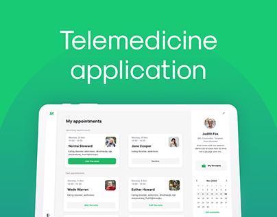 Web & mobile telemedicine solution (under NDA)