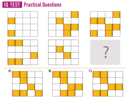 IQ TEST and Practice Questions - Intelligence Questions