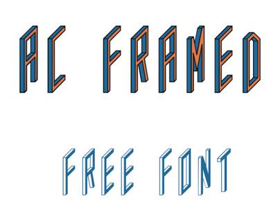 AC Framed (Free Font)