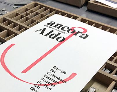 Ancora Aldo – Letterpress
