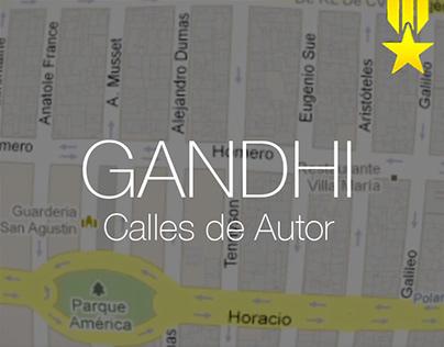 Gandhi - Calles de Autor