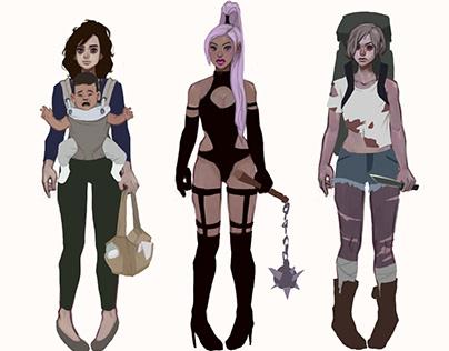 Character Design Set 2