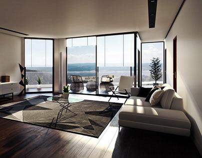 """Damai Apartments"" Project: NonScale (Japan)"