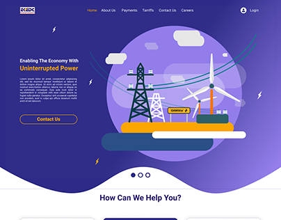 Redesign Of EKEDC Website