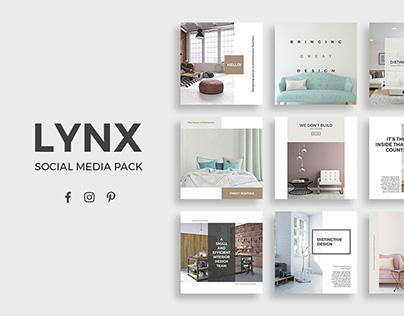 Lynx Social Media Pack