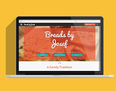 Breads By Josef: Responsive Website Design