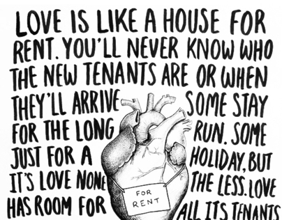 Heart for rent
