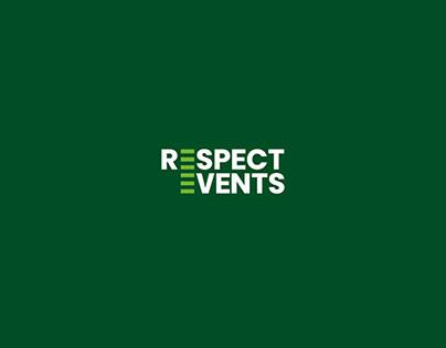 Respect Events / logo concept ideas
