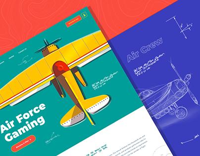 AirCraft Website Design