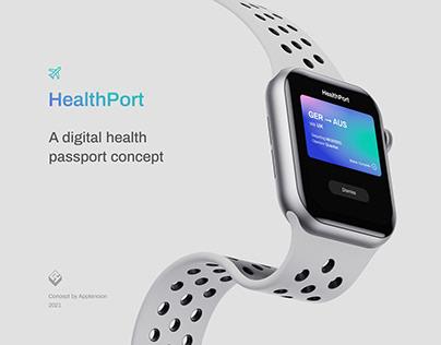 HealthPort – a digital health passport concept