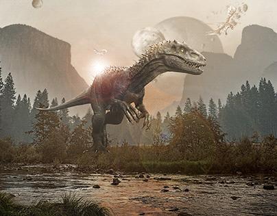 Baby T-Rex's Last Moment