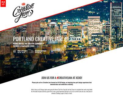 Adobe Creative Jam Portland