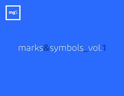 marks & symbols_vol.1