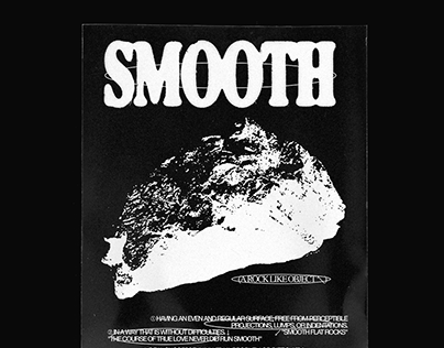 Smooth \\ Blank Poster.
