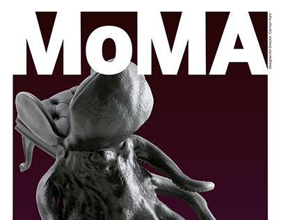 Mock Up Moma Poster Design