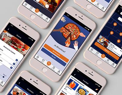 FreeTable - App Design Concept