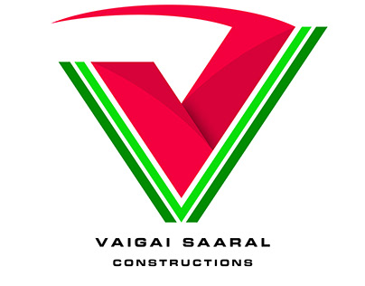 Logo Design for Vaigai Saaral Construction