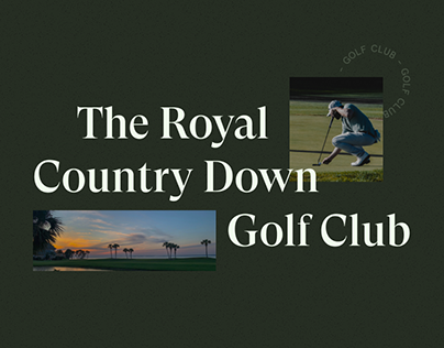 The Royal Country Down Golf Club — redesign website