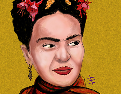 Frida Kahlo İllüstration