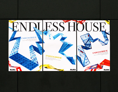 ENDLESS HOUSE : MoMA Poster Series