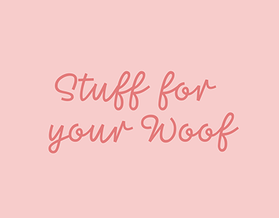 Stuff for your Woof