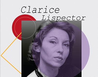 Capa Clarice Lispector   Homenagem