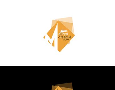 Maurya Creative Work Logo Design