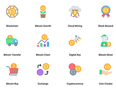 Bitcoin and Cryptocurrency Mining Flat