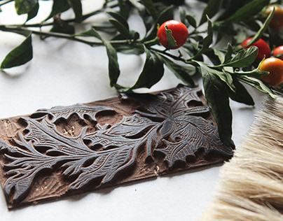 Ramato Christmas cards - Holly Jolly