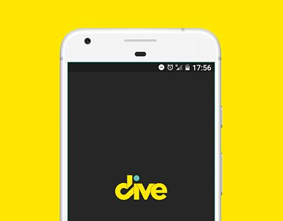 Dive App · Protoype