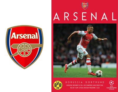 Arsenal Matchday Programme 2014/2015