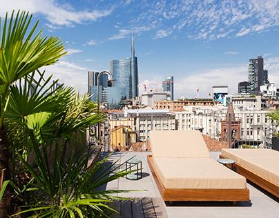 Terrace | Rising Milano | ITALY