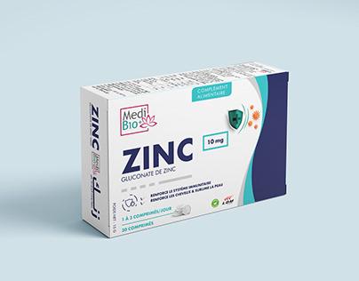 Zinc Medi Bio Packaging